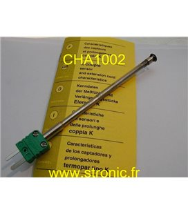 SONDE THERMOCOUPLE  TYPE K