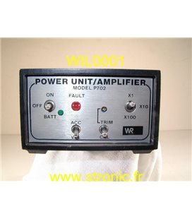 POWER UNIT AMPLIFIER P702