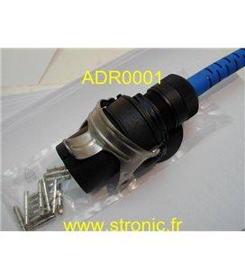 CONNECTEUR 15 POL 24V ISO 12098