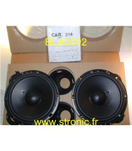 PAIRE HP 2 WAY  170mm  100 W CAR MAGIC 214
