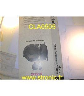 HAUT-PARLEURS 165 mm 100W
