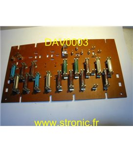 DAV PLATINE FUSIBLES  2498  R18 (82) Ht.GAMME