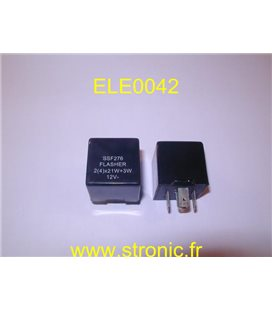 ELECTRONIC FLASHER 12V  CL.287