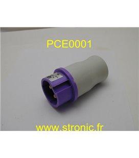 FICHE MALE 2P 24V  16A IP 44    062  SA 9280