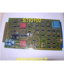 CIRCUIT COMMANDE DE TRACTION 609894