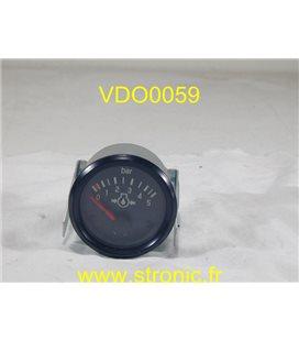 INDICATEUR DE PRESSION 5  BAR  350 003 0231