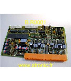 CARTE 4 ENTREES ANALOGIQUES  PT 100  MCTP41-0