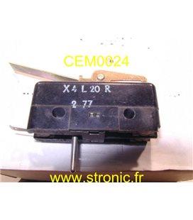MICRO-CONTACT A LEVIER + RAZ X4 L 20R