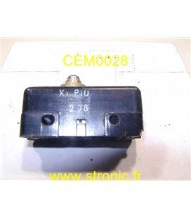 MICRO-CONTACT A BOUTON X4 P10