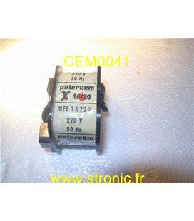 BOBINE 220V  S16/20  NEF16220