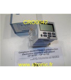 COMPTEUR IMPULS ELECTRONIQUE CP 48 D2