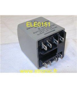 RELAIS ECA  8-530     24V  2RT 5A