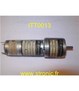 MOTEUR  GR26.0 + REDUCTEUR: 30 Ncm