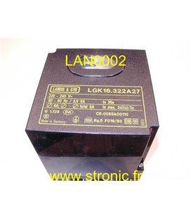 CONTROL BRULEUR    LGK16322A27