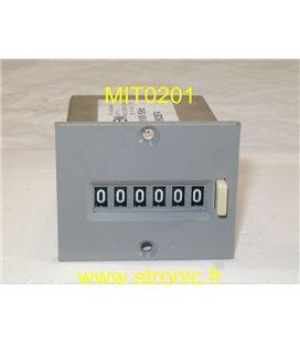 COMPTEUR 6 DIGITS  110V  E16.11