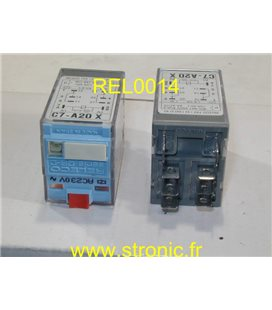RELAIS 2 RT  230V  C7-A20 X