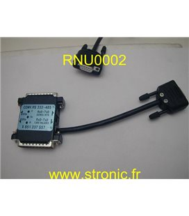 CONVERTISSEUR RS232 - RS485 X851 237 557