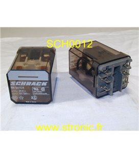 RELAIS RM 502524  24V AC  2RT 10A