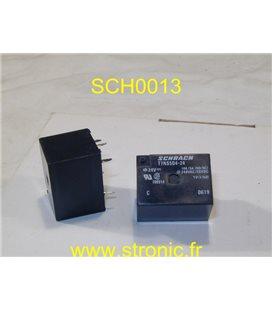 RELAIS   24V  CC  1RT 10/5A  T7 NS5D4-24