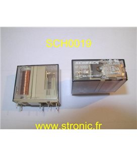 RELAIS VERTICAL  12V DC  1RT 16A   RP 710012