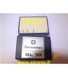 MODULE  BL 10  SERVOMAC