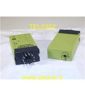 RELAIS TEMPORISE 12V CC.