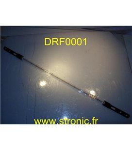LAMPE TUBE INFRA-ROUGE   235V 1000W  IR-DE 11X483