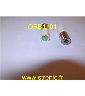 LAMPE MULTI-LED 6V DC 6 CHIPS VERTE