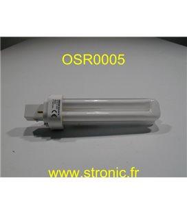 LAMPE DULUX-D G24D-2  18W 220V