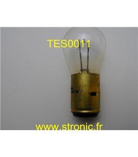 LAMPE FILAMENT PONCTUEL 12V 50W   BA20d