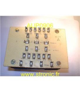 TRANSFORMATEUR TRIPHASE 380/415V ----2 X15V + 2X27V