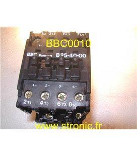 CONTACTEUR RELAIS B25-40-00