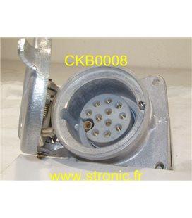 EMBASE FEMELLE  11+1 CCA 0591-0526-0M000