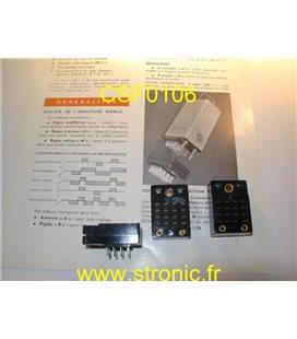 SUPPORT RELAIS TELEGRAPHIQUE SERIE C