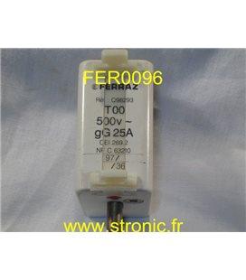 FUSIBLE FERRAZ A 98 302  100A