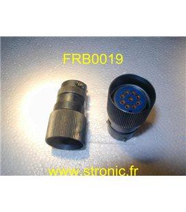 CONNECTEUR FEMELLE FRB CL.091 12 40 13