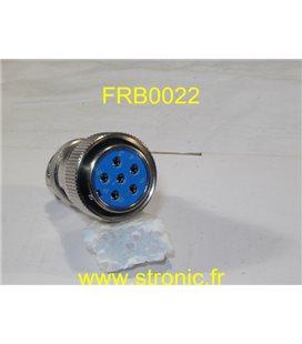 CONNECTEUR FEMELLE FRB CM.061 12 40 14