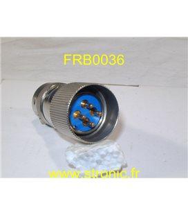 CONNECTEUR MALE FRB CL.042 33 40 14