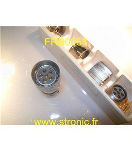 CONNECTEUR MALE FRB CM.061 13 40 12