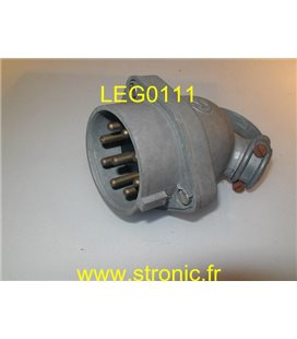 FICHE MALE COUDEE ML 8P+T 20A   208 TP