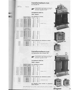 TRANSFORMATEUR  SECURITE 2 X 24V 100VA  427 42