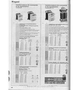 TRANSFORMATEUR  SECURITE 2 X 24V 63VA   427 20