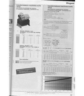 TRANSFORMATEUR  TFCE  2 X 24V 400VA  426 55