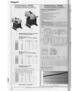 TRANSFORMATEUR  CNOMO 2 X 115V 400 VA  426 35