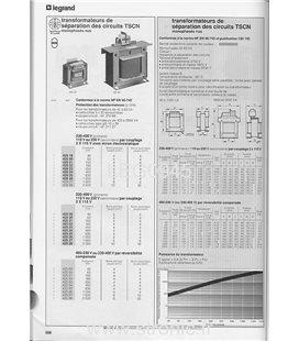 TRANSFORMATEUR 230/400---2 X 115V 630 VA  425 25