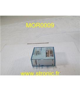 RELAIS TEC  12V DC  1RT 10A  JVAS 058000