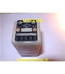 RELAIS BA  110V AC    4 RT 10A