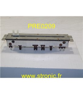POTENTIOMETRE RECTILIGNE STEREO 2X 100 K