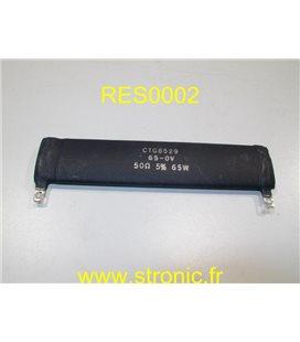 RESISTANCE RES INC CTG6479