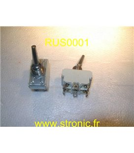 INTERRUPTEUR 2 RT 10A 250V
